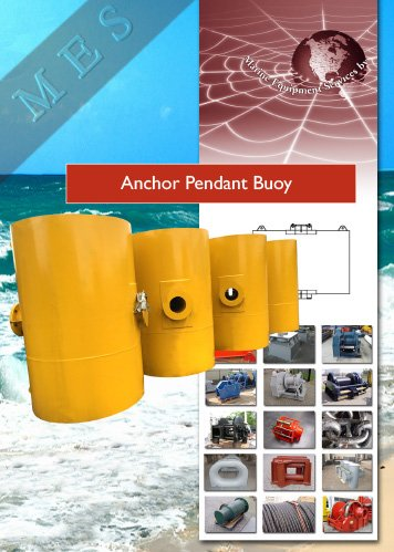 Anchor-Pendant-Buoy Information